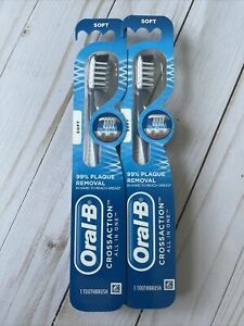 Oral B CrossAction All In One Toothbrush Soft X2