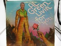 Al Green-Livin' For You Vinyl LP 1973 ASHL 32082 -London  VG+ c G+