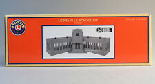 LIONEL LIONELVILLE SCHOOL HOUSE O GAUGE scenery building small town 6-83658 NEW