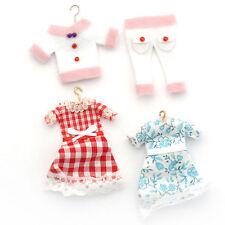Dolls House 4891 Girls-Kleider Doll Clothing 1:12 for Dollhouse New! #