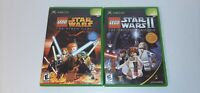 LEGO Star Wars: The Video Game &  II The Original Trilogy Xbox Video Games CIB