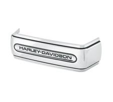 06 + Harley Davidson fxd dyna H-D Script chrome battery box trim 66443-06