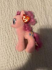 """TY MY LITTLE PONY Friendship is Pinkie Pie 7"""" Plush STUFFED ANIMAL"""