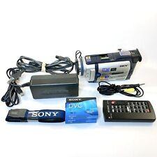 Sony Handycam Dcr-Trv30 Digital Camcorder Lot - Record, Transfer, Watch MiniDv