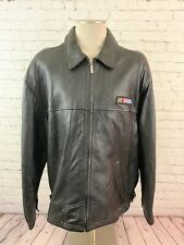 NASCAR 2000 VINTAGE MENS EXIDE BATTERIES SELECT LEATHER JACKET SIZE XL
