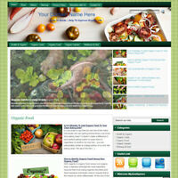 Organic Health Affiliate Online Business Website For Sale! Earn Money At Home!