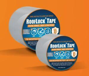 Rooflock Repair Tape for Waterproofing Roofs & Gutters, Caravan Repair Roof Lock