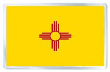 NEW MEXICO USA FLAG FRIDGE MAGNET SOUVENIR IMAN NEVERA