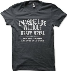 Alter Bridge Blackbird inspired imagine life without heavy metal  t-shirt FN0012