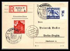 GP GOLDPATH: GERMANY POST CARD 1940 REGISTERED LETTER _CV699_P11