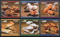 Portugal Gastronomy Stamps 2017 MNH Traditional Desserts Cuisine Foods 6v Set