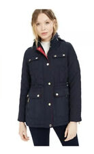 Michael Kors Hooded Quilted Anorak Coat Petite Size PS. New Navy (£179rrp!!)