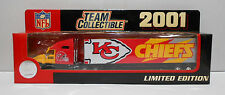 NFL KC Chiefs 2001 Collectible Semi Truck 1:80 scale