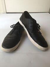 Calvin Klein Men's Parker Leather Lace-Up Oxford Shoes Size 9.5M Black