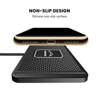QI wireless Car phone charger fast charging pad mat iPhone universal For Sa L1O8