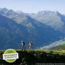 5 Tage Sommer Wandern Biking Urlaub Hotel Troschana 4* inkl. HP Flirsch Arlberg