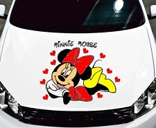 "MINNIE MOUSE CAR DECAL GRAPHIC VINYL (21""H X 26""W) HOOD OR SIDE"