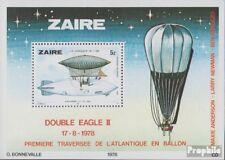 zaïre zaïrois Bloc 22 (complète edition) neuf avec gomme originale 1978 Développ