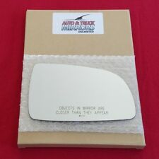 Mirror Glass + Adhesive For Aveo, Pontiac Wave, Suzuki Swift+ Passenger Side Re