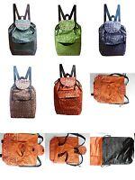 Rucksack Canvas Thai Muster shopper weekender Backpack Stoff Tasche Thailand 1