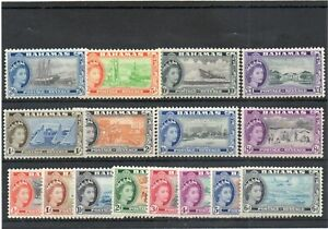 SG 201/SG 216 BAHAMAS SET MINT (16) . CAT £100. TWO SCANS