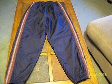 NIKE Blue Burgundy Gray Athletic Running Workout Pants L/Large