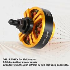 DYS D4215 650KV Outrunner Brushless Motor Detachable Shaft 3-6S LiPo HOT W4A1