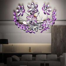 Decken Beleuchtung Blumen Leuchte LED 9 Watt Acryl Blüten Wohnzimmer Lampe Licht