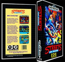 Streets of Rage - Sega Genesis Reproduction Art Case/Box No Game.