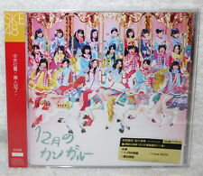 SKE48 12 Gatsu no Kangaroo 2014 Taiwan Ltd CD+DVD+Card (Type D Ver.)