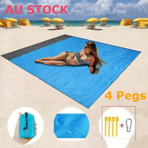 Sand Free Camping Mat blanket Camping Carpet Waterproof Outdoor Picnic Beach Mat