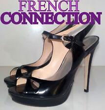 "Amazing "" French Connection""   LEATHER Pumps Slingbacks  Shoes UK 6  EU 39  £85"