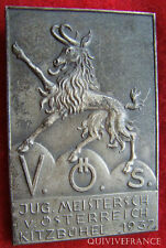 MED2249 - MEDAILLE CHAMOIS KITZBÜHEL 1937 V.Ö.S. AUTRICHE - MEDAL