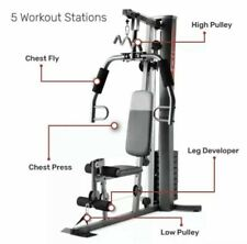WEIDER XRS 50 Home Gym Fitness Machine Exercise Workout Weights Bench gym