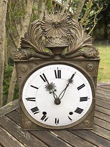 Mecanisme Pendule Horloge Comtoise Pieces Orologio Mecanique Cadran