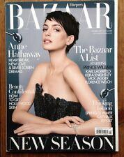 Harper's Bazaar UK February 2013: Anne Hathaway by David Slijper