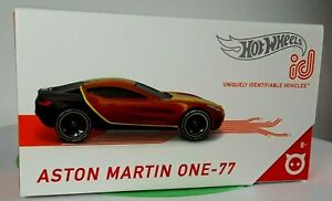 Hot Wheels Aston Martin One-77 id, Uniquely Identifiable Vehicles, Speed Demo