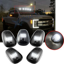 5x Smoked Lens Led Roof Lamp Rooftop Driving Lights for Ford F-150 F-250 F-350