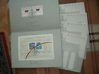 BRD, 1 Lot von 5 Erinnerungsblättern 2/1990 gestempelt, alles muß raus!!, 2.
