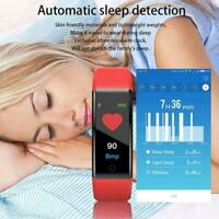 Fitness Smart Watches Activity Tracker Heart Rate Women Men For Android iOS R1A4