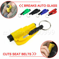 2018 Keychain Car Emergency Rescue Glass Breaker Seat Belt Cutter Hamm