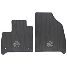 OEM NEW Front All Weather Rubber Floor Mats w/ Buick Logo 18-19 Enclave 84162074