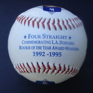 1992 1995 LOS ANGELES DODGERS ROOKIE OF THE YEAR PHOTO BASEBALL