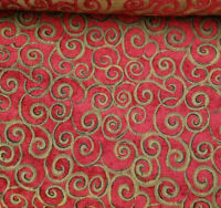 """Deluxe Chenille Small scroll ,54"""" wideSofa Chair Fabric Hotel Villas Upholstery"""