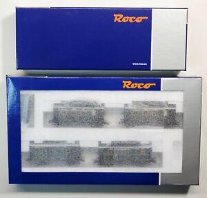 Roco K.Bay-Sts.B. 4512 PtL 2/2 Glass Box & 4 Piece Coach Set Digital DCC & Sound