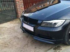 BMW E90 E91 05-08 Front Bumper spoiler flaps elerons addon NOT M3 M tech pack