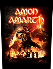 Amon Amarth surtur rising Back Patch Xlg free worldwide shipping