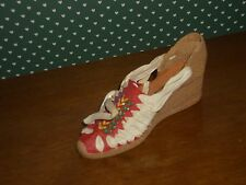 2000 -Just The Right Shoe Beverly Feldman Figurine-Espadrille- Pacha-New