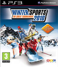 Winter sports 2010: le grand tournoi PS3 * en excellent état *