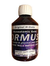 Monatomic Gold Ormus - Origional M-State 250ml liquid monoatomic Orme